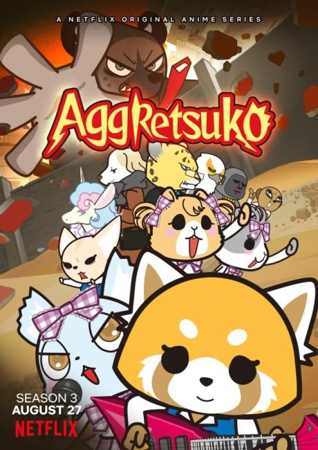 Aggretsuko: Season 3 poster