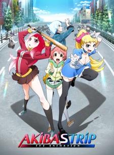 Akiba's Trip the Animation poster