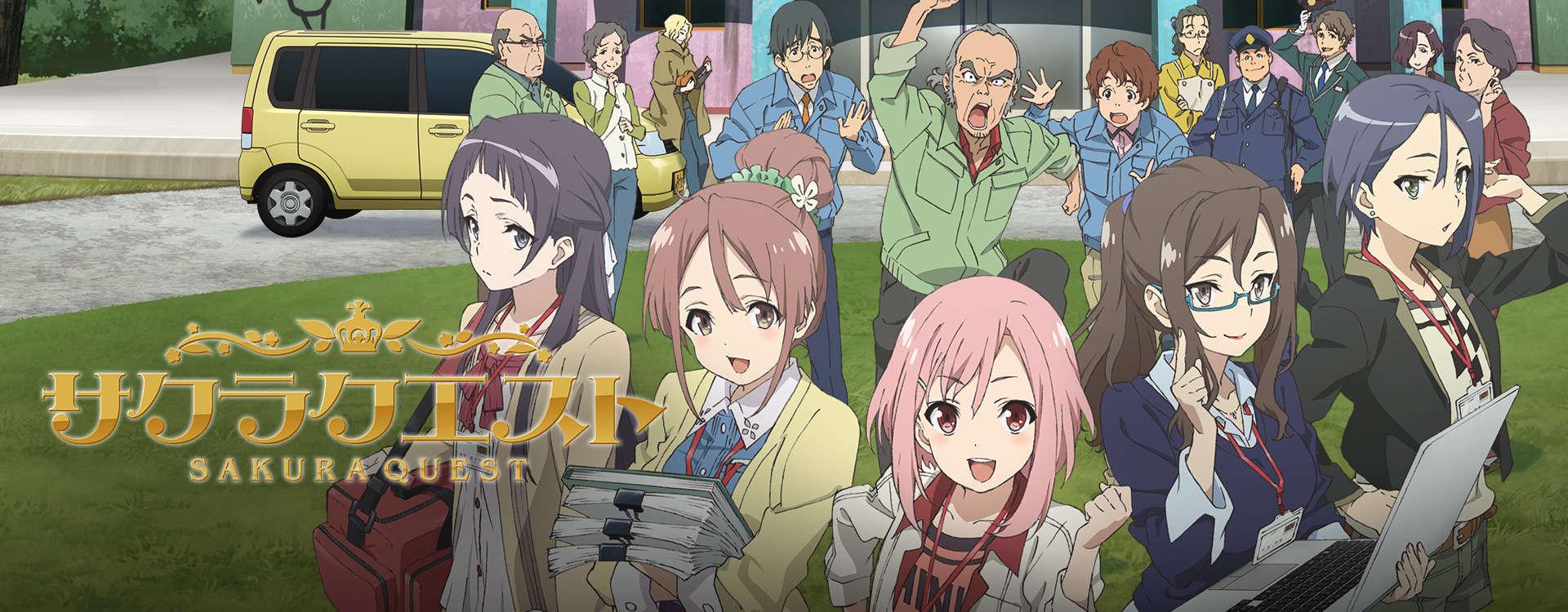 Cover image of Sakura Quest (Dub)