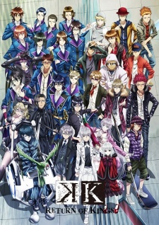 K: Return of Kings (Dub) poster