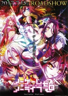 Poster of No Game, No Life Zero (Dub)