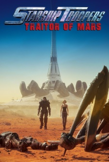 Poster of Starship Troopers: Traitor of Mars (Dub)