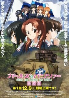 Poster of Girls & Panzer: Saishuushou Part 1