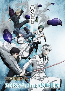 Poster of Tokyo Ghoul:re