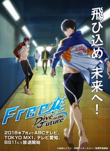 Poster of Free! -Dive to the Future- (Dub)