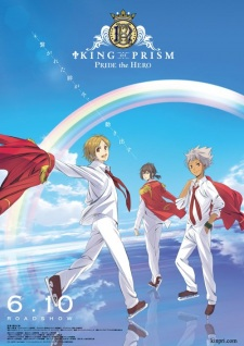 Poster of KING OF PRISM -PRIDE the HERO-