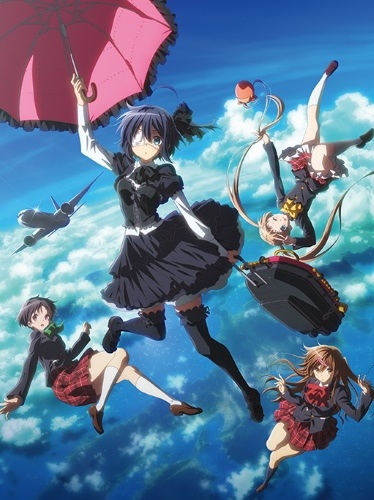 Poster of Love, Chunibyo & Other Delusions: Take on Me (Dub)