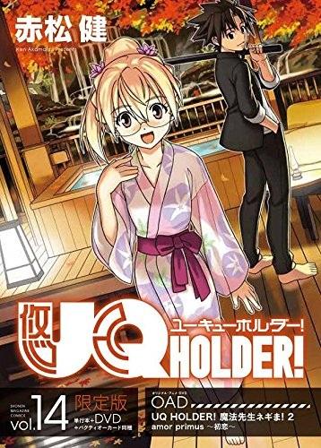 Poster of UQ Holder! (Dub)