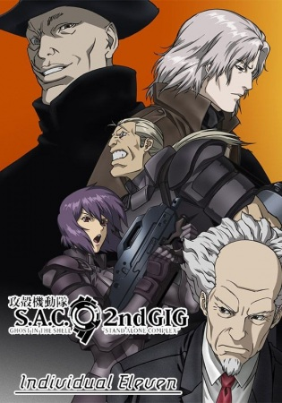 Poster of Ghost in the Shell: S.A.C. 2nd GIG - Individual Eleven (Dub)