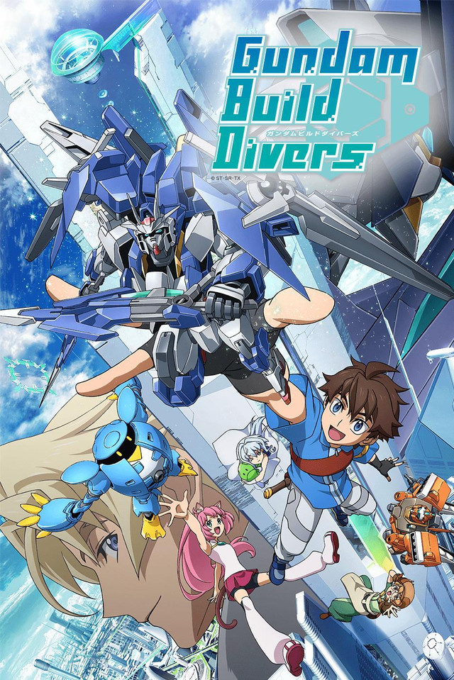Gundam Build Divers (Dub)