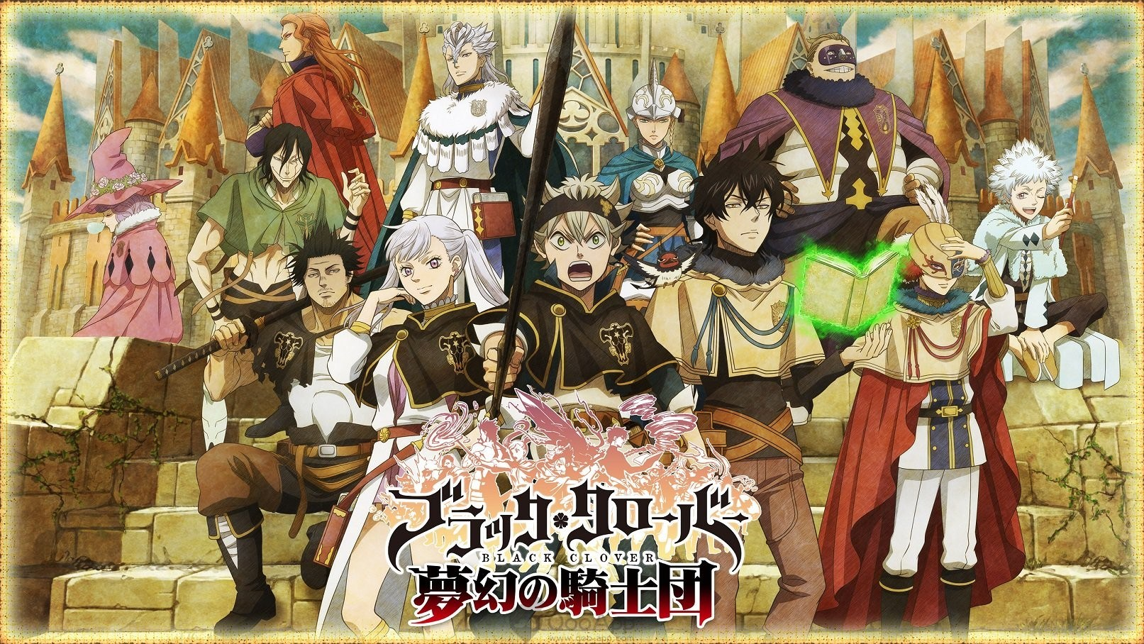 Cover image of Black Clover