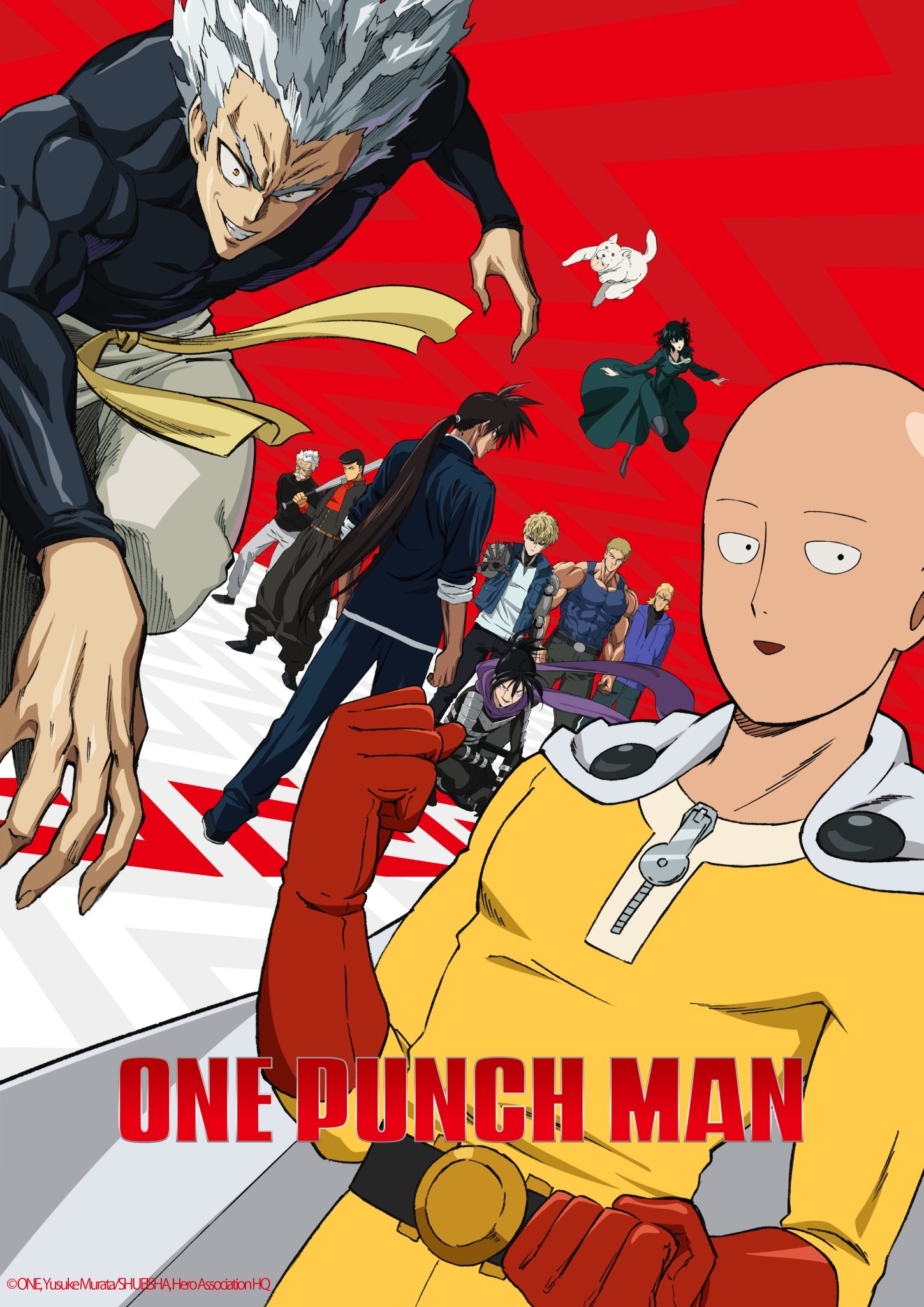 One-Punch Man Season 2 poster