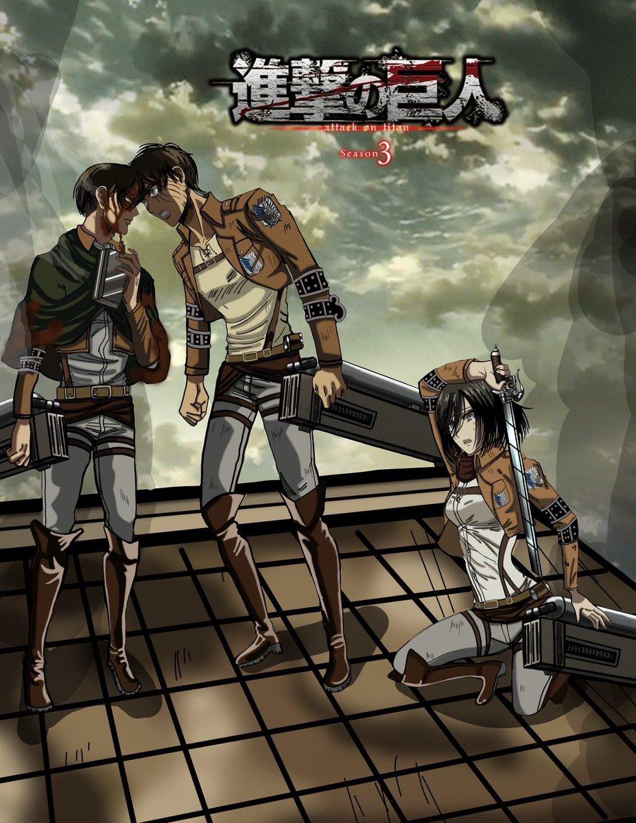 Shingeki no Kyojin 3rd Season (Dub)