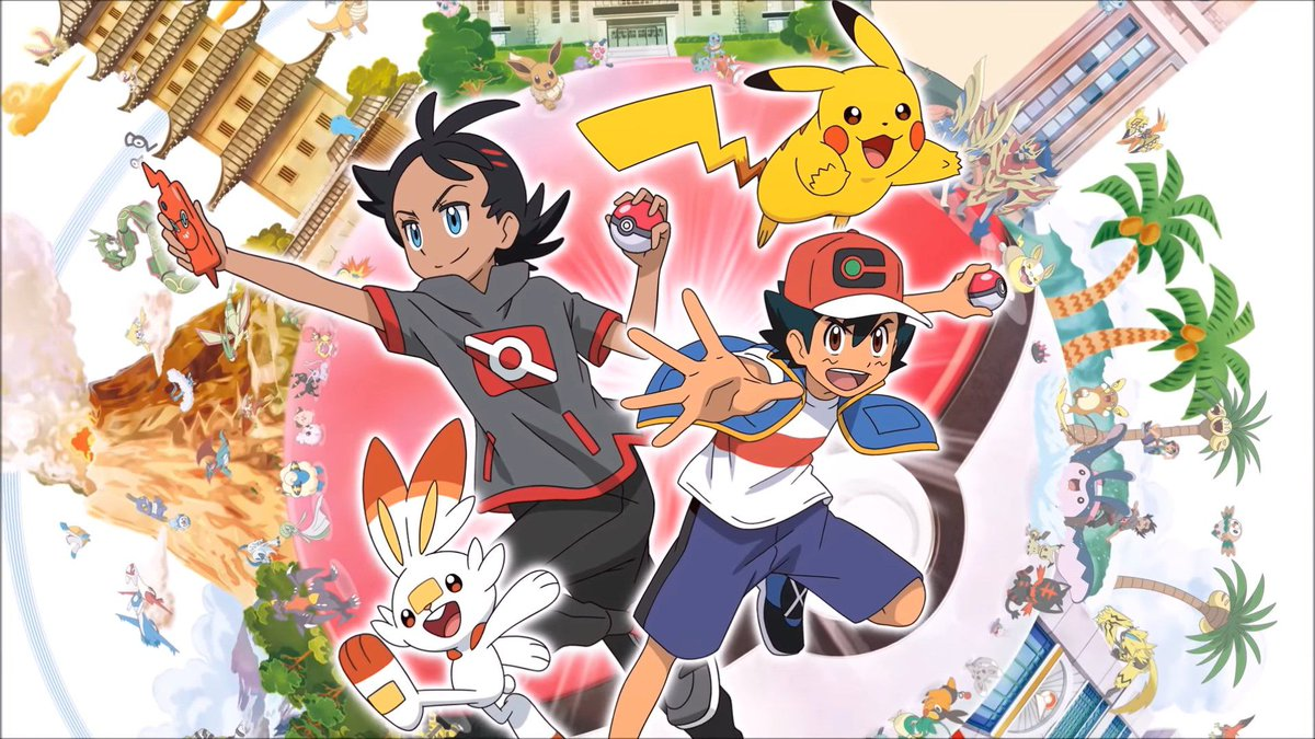 Cover image of Pokémon Journeys: The Series