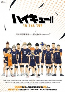 Poster of HAIKYU‼ TO THE TOP