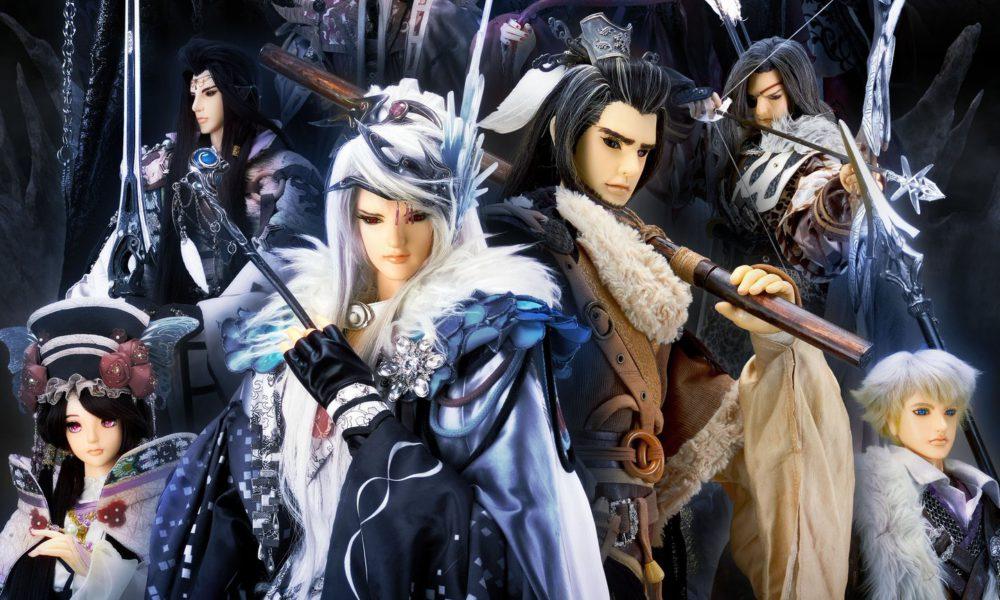 Cover image of Thunderbolt Fantasy - Bewitching Melody of the West
