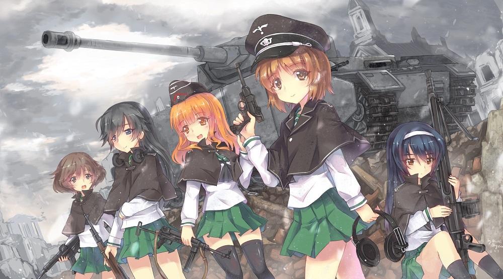 Cover image of Girls und Panzer das Finale