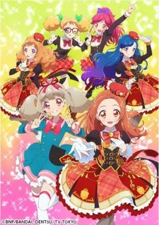 Aikatsu on Parade! Web Anime poster