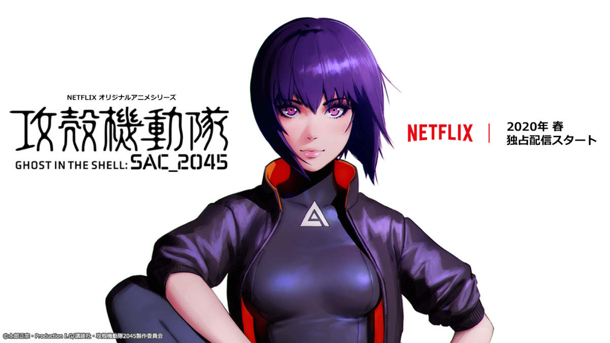 Cover image of Ghost in the Shell: SAC_2045