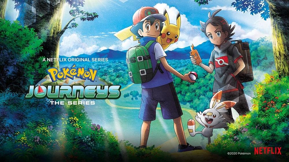 Cover image of Pokémon Journeys: The Series (Dub)