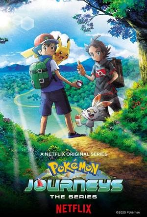 Poster of Pokémon Journeys: The Series (Dub)