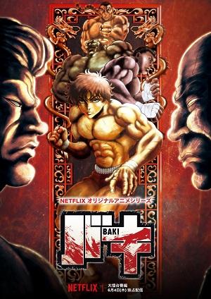 Baki 2nd Season (Dub) poster