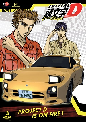Poster of Initial D 4th Stage (Dub)
