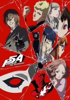 Poster of Persona 5 the Animation (2018) (Dub)