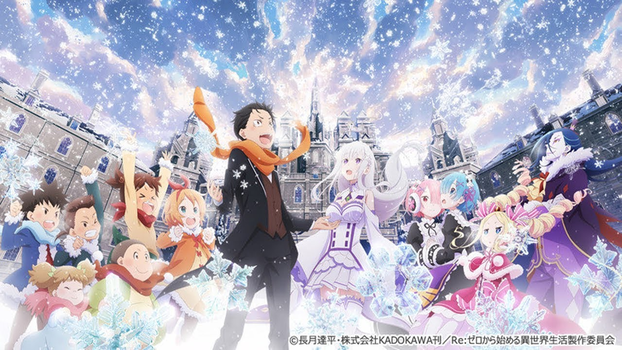 Cover image of Re:ZERO -Starting Life in Another World- Memory Snow (Dub)