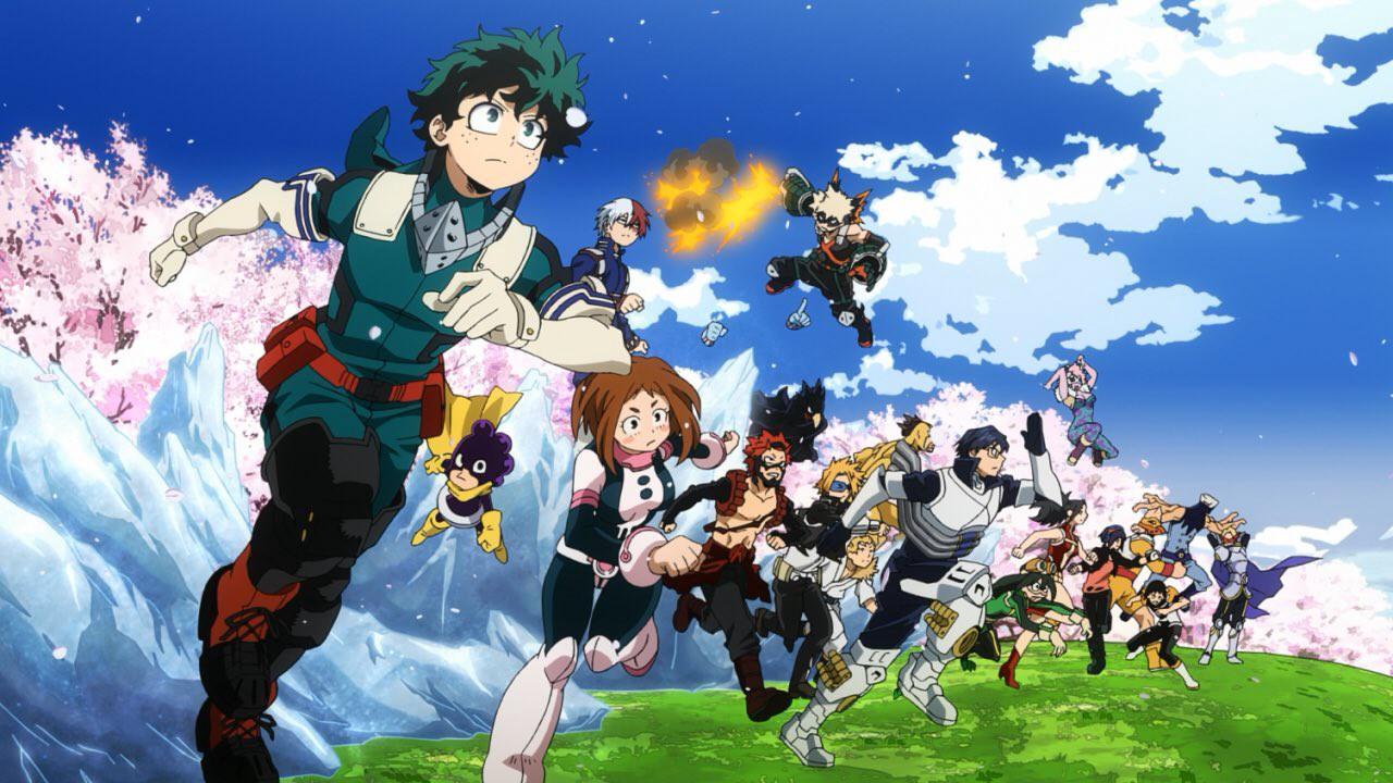 Cover image of My Hero Academia Season 5