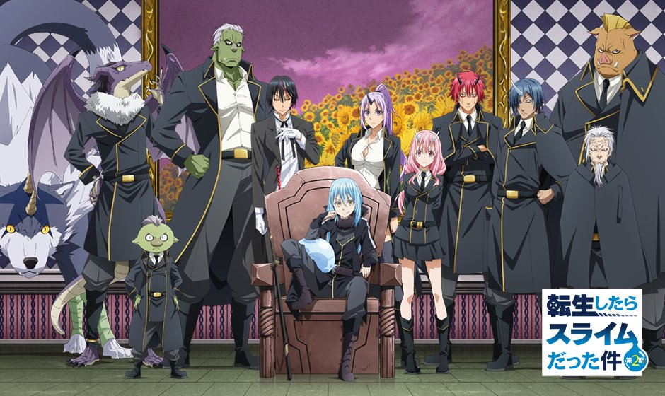 Cover image of That Time I Got Reincarnated as a Slime Season 2 (Dub)