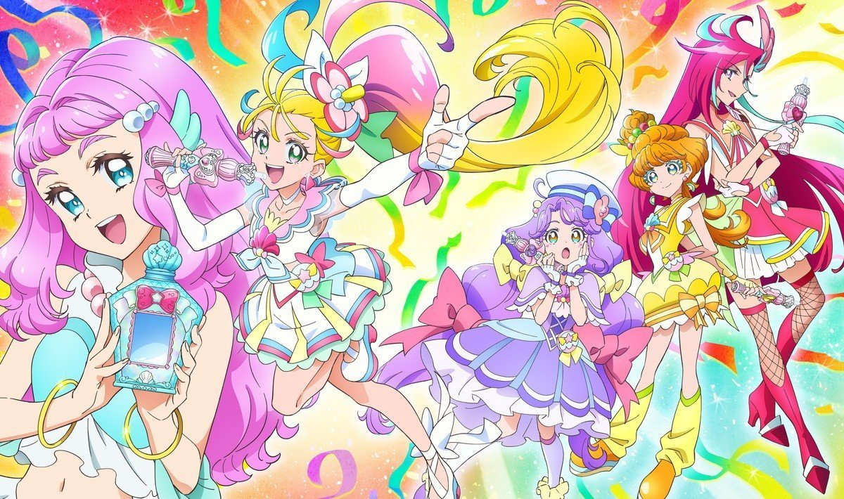 Cover image of Tropical-Rouge! Pretty Cure