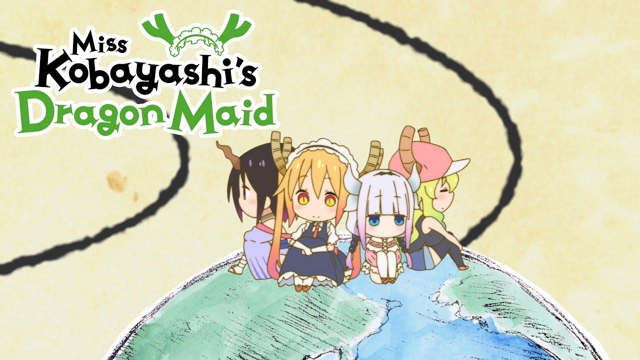 Cover image of Miss Kobayashi's Dragon Maid S Short Animation Series