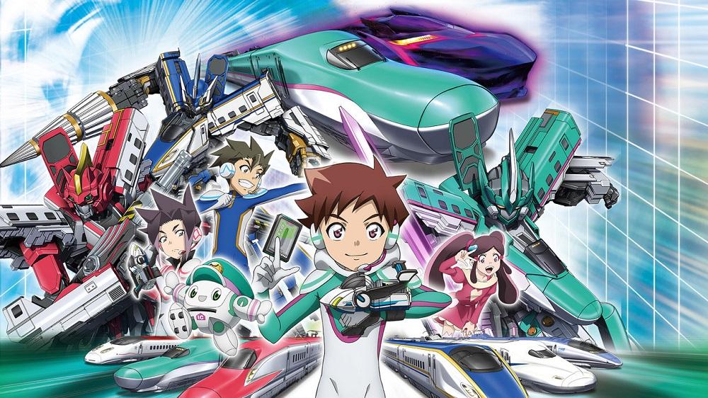 Cover image of Transforming Bullet Train Robot Shinkalion Z