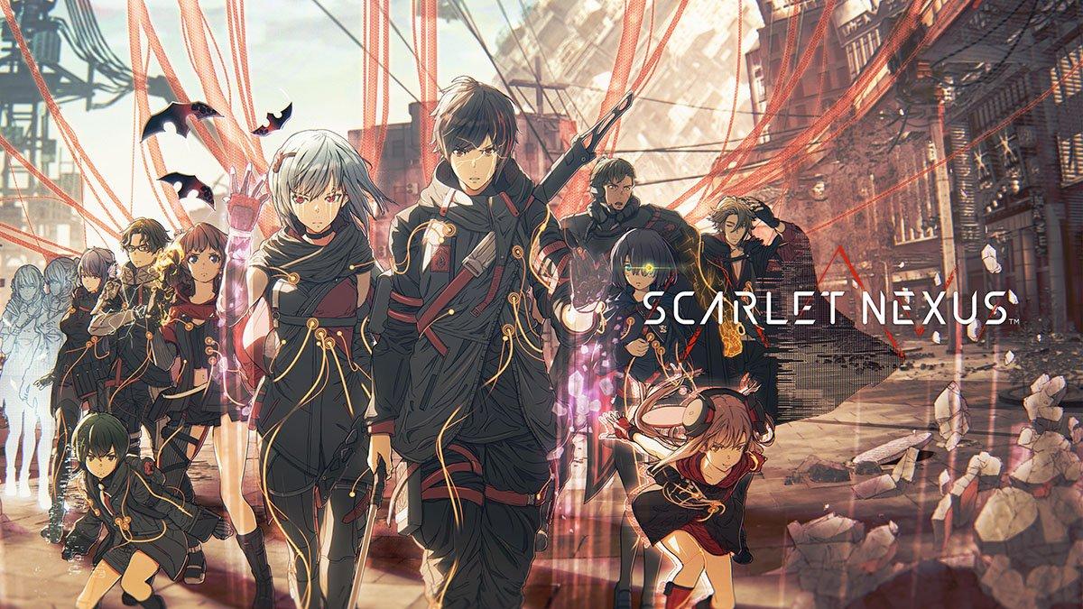 Cover image of Scarlet Nexus
