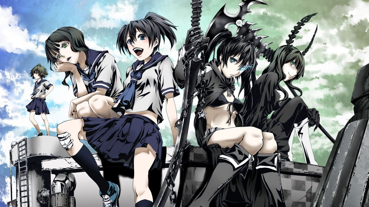 Cover image of Black Rock Shooter (Dub)