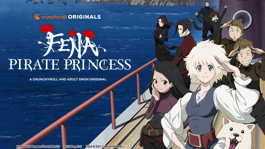 Cover image of Fena: Pirate Princess