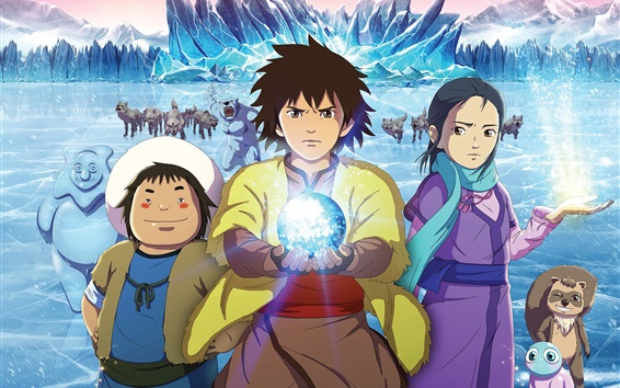 Cover image of Kai: Legend of the Icy Lake