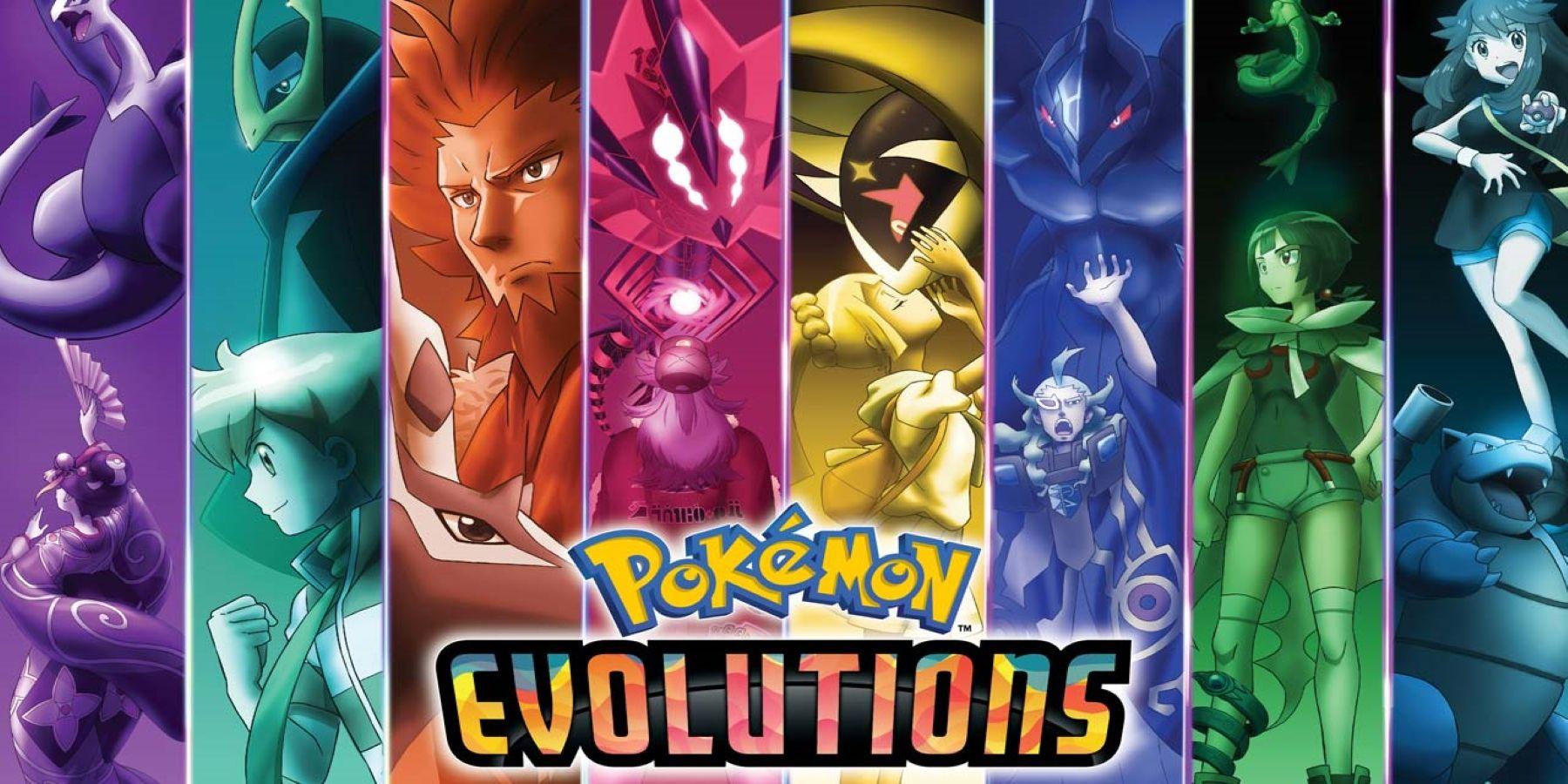 Cover image of Pokémon Evolutions (Dub)