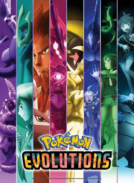 Poster of Pokémon Evolutions