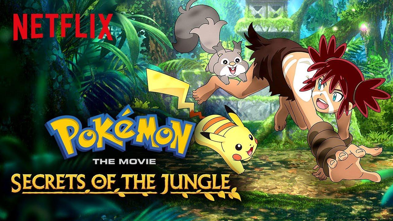 Cover image of Pokémon the Movie: Secrets of the Jungle (Dub)
