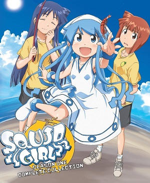 Poster of The Squid Girl (Dub)