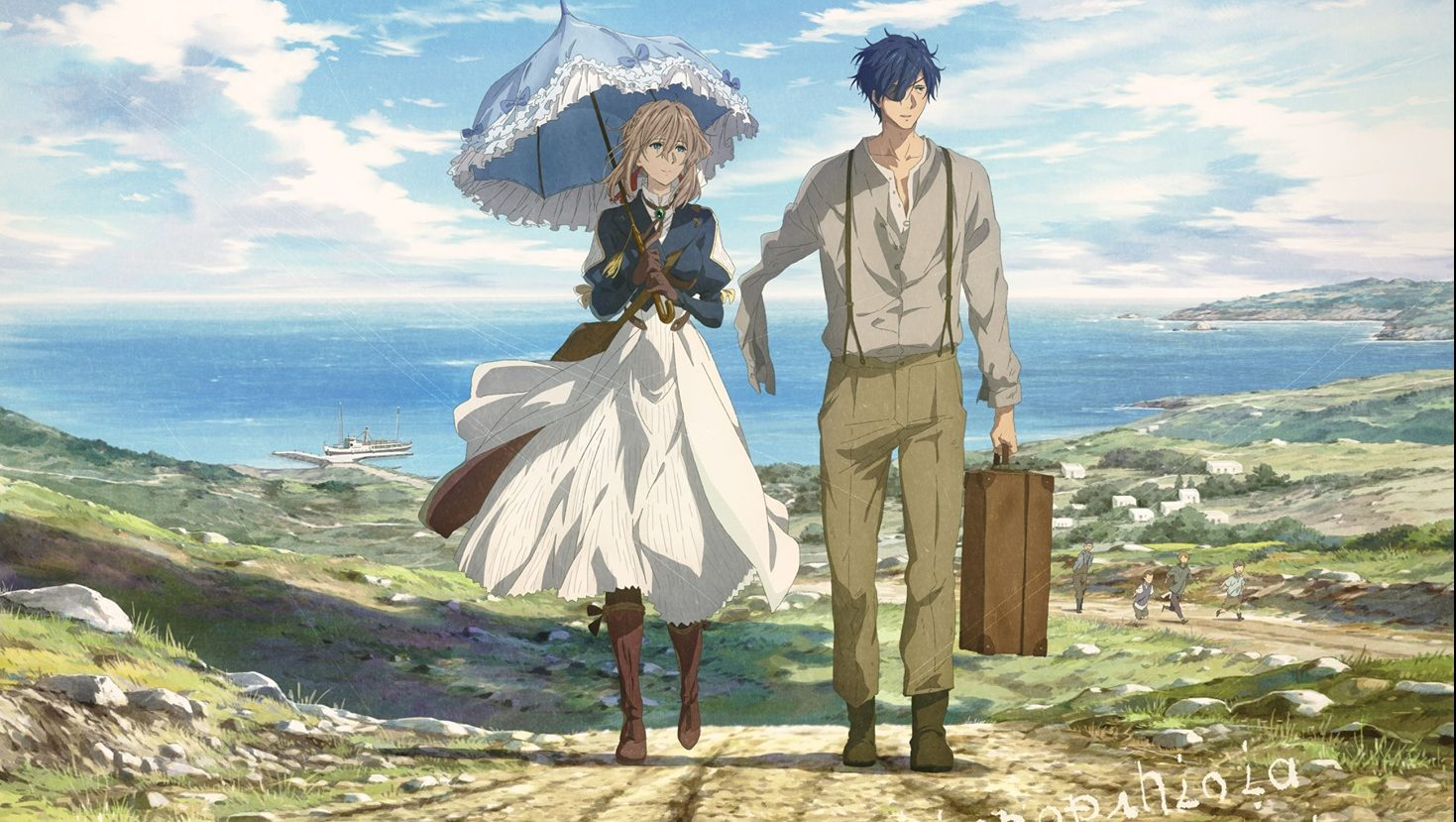 Cover image of Violet Evergarden The Movie (Dub)