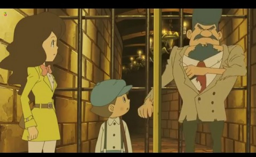 Cover image of Professor Layton and the Eternal Diva (Dub)