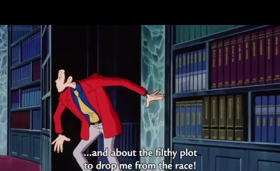 Cover image of Lupin III: Farewell to Nostradamus