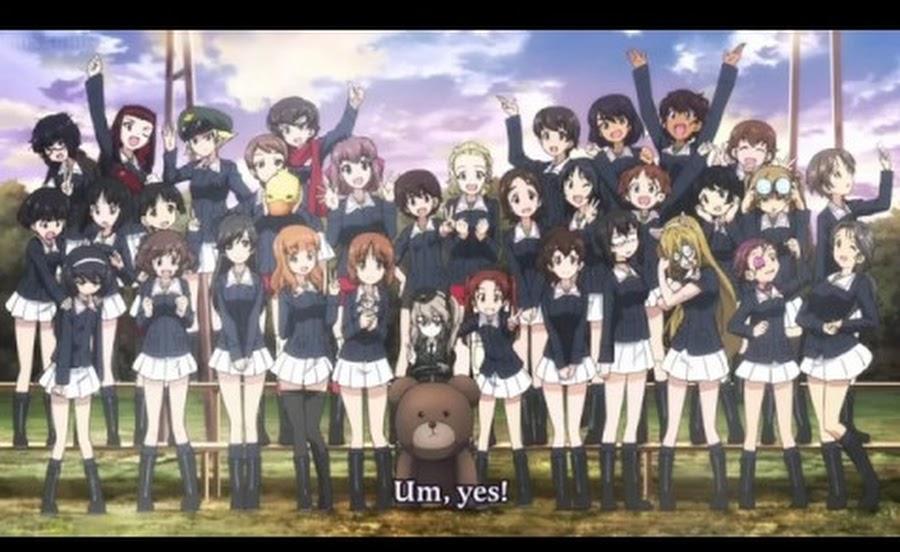 Cover image of Girls & Panzer Movie Specials - OVA