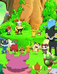 Poster of Pikachu to Pokémon ongakutai (Dub)
