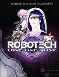 Poster of Robotech: Love Live Alive (Dub)