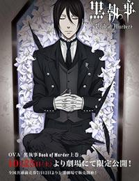 Poster of Black Butler: Book of Murder