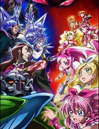 Poster of Precure All Stars Movie DX3: Mirai ni Todoke! Sekai wo Tsunagu Niji-iro no Hana